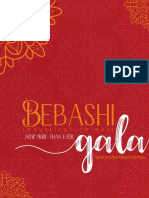 Bebashi Now More Than Ever Gala