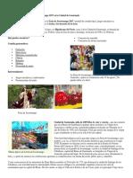 Feria de Jocotenango 2017 en La Ciudad de Guatemala