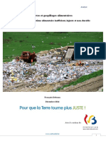 Pertes Et Gaspillages Du Systeme Alimentaire - Analyse