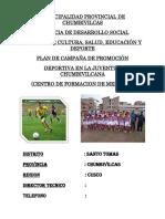Plan de Escuela Deportiva Actual