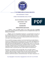 Sarno  Order Executive Order Social Media Policy August 2017
