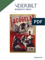 Vanderbilt University Press Fall/Winter 2017 Catalog