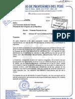 OFICIO N° 270-2017CPPe - PROYECTO DE LEY DEL CPPe