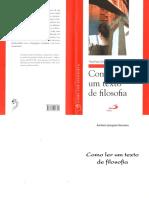 Como ler um texto de Filosofia.pdf