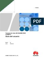 02-7110012-HUAWEI 9000 HD Video Terminal User Guide(V100R011_06,ES) (1)