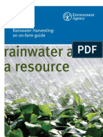 Rainwater Harvesting for Farmers - UK