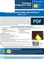 BCI CIU Public Bulletin Cleaning Fentanyl Spills With OxiClean Final Draft