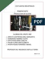Base de Diseño en La Producción de Glicina