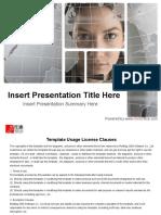 Business Presentation Format