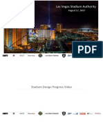 Oakland Raiders NFL Las Vegas Stadium Authority Presentation 2017-08-17
