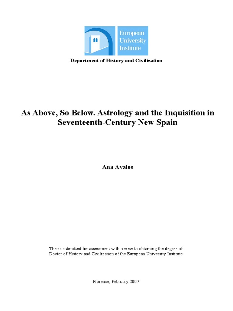 Avalos - Astrology and Inquisition in Spain.pdf