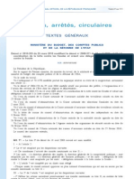 Décret 25 mars 2010 - Comités de lutte contre les Fraudes