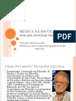 MÚSICA NA ESCOLA - Fundamentos Da Educação Musical.