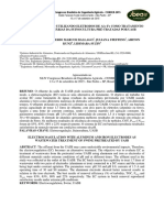Eletrocoagulação Como Alternativa de Tratamento de Água Residuária Da Suinocultura Pré-tratamenta Por Uasb
