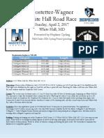 Race Flyer