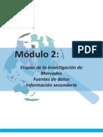 Investigación de Mercados Módulo II