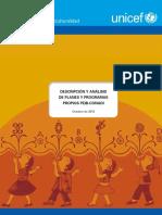 Descripción y Análisis de Planes y Programas Propios PEIB-CONADI