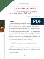 Conflicto bélico y prensa en Paraguay durante.pdf