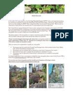 Rain Garden Application - Swamp Creek Drainage basin
