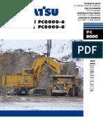 Komatsu especificaciones PC8000-6-ESP