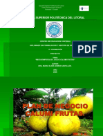 Exposiciòn de Proyecto Calumi Frutas de Maria Gomez Santillan