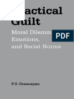 P. S. Greenspan Practical Guilt Moral Dilemmas, Emotions, And Social Norms