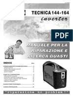 Inverter Tecnica 144-164 Tecnica 140.1-142 Manuale Per La Riparazione e Ricerca Guasti Riparazione No Problem! Indice Pag.