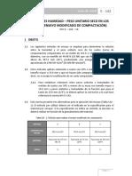 Norma Inv E-142-13 (Ensayo Modificado de Compactación)