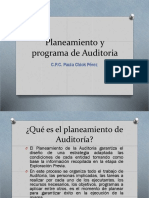 Planeamiento y Programa de Auditoria-clase 2