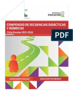 3. Secuencias Didácticas 2015-2016