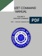 Star Fleet Command Manual - Volume IV Part 1
