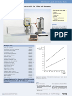 Viscosity Measurements With the Falling Ball Viscometer