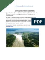 Visita Turisticas a Las Hidroeléctricas