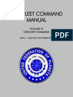 Star Fleet Command Manual - Volume IV Part 2