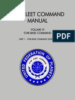 Star Fleet Command Manual - Volume VI Part 1