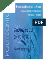 Cinemática del cuerpo rígido 2