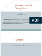 88739662 PPT on Globalisation and Its Discontents (1)