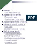 Diapositivas de Control de Sistemas Lineales