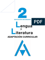 Lengua y literatura 2. Adaptación curricular (Anaya)