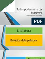 Todos Podemos Hacer Literatura
