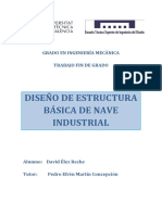Élez - Diseño Estructura Básica de Nave Industrial