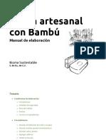 Jabón Artesanal Con Bambú