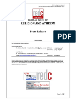 RED C Press Release Religion and Atheism 25-7-12
