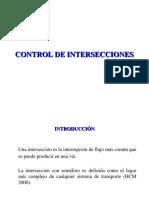 V Diseño de Intersecciones Con Semáforo