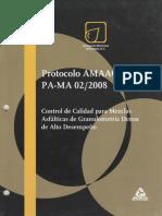 Protocolo Amaac Pa-ma 02 2008