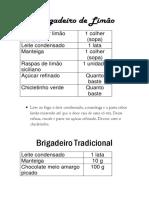 Brigadeiros 2