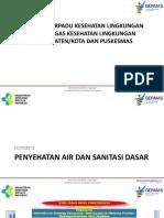 Materi 2 Penyehatan Air Dan Sanitasi Dasar. Edit Subdit 24 Maret
