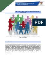 Ejemplicación de Políticas Públicas en Colombia Unidad 5