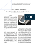 Security Analysis of the Diebold AccuVote-TS Voting Machine