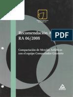 Recomendación AMAAC RA 06 2008